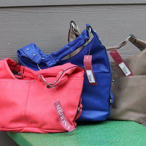 3 Merona purses